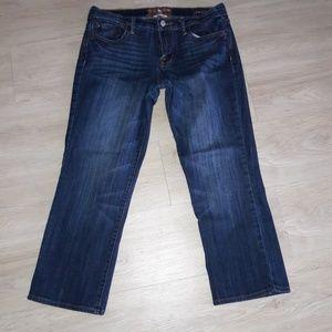women's lucky crop jeans
